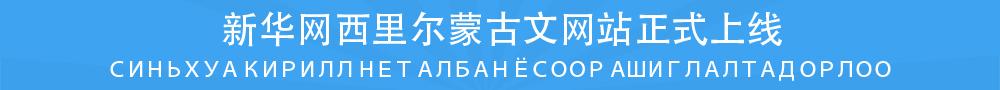 新华网西里尔蒙古文网站