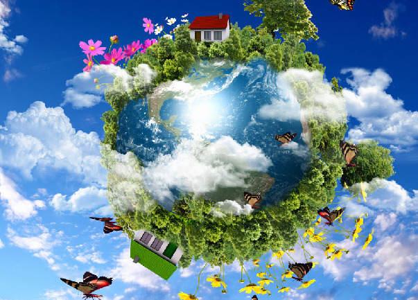 地球一个生命的画卷