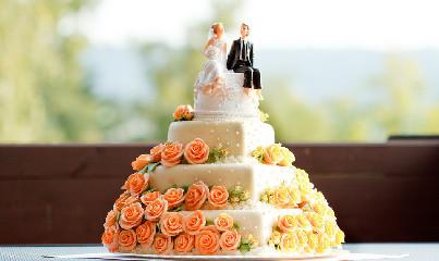 奇趣婚礼蛋糕