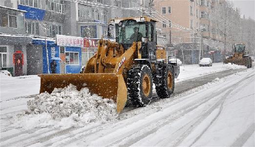 内蒙古呼伦贝尔四月频降雪