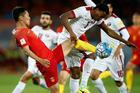 12强赛:国足0-0卡塔尔