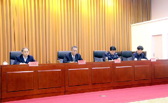 內蒙古司法廳召開司法隊伍建設行動動員大會