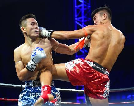 世界頂級泰拳巡回賽年度總決賽在呼和浩特舉行