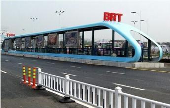 呼和浩BRT公交車將于5月1日上線運營