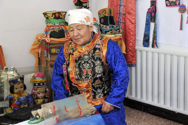 非物質文化遺産傳承人——烏雲陶高斯