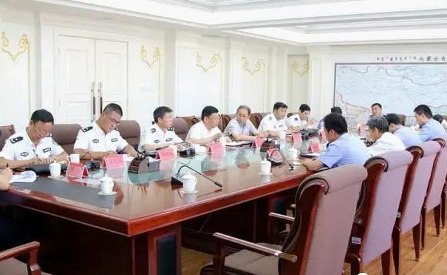 司法部督察組對內蒙古監所進行督察檢查