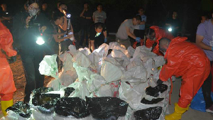 內蒙古警方搗毀超大型制毒工廠繳制毒原料26噸