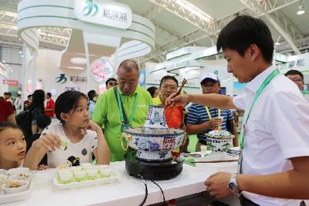 名優綠色食品雲集內蒙古包頭