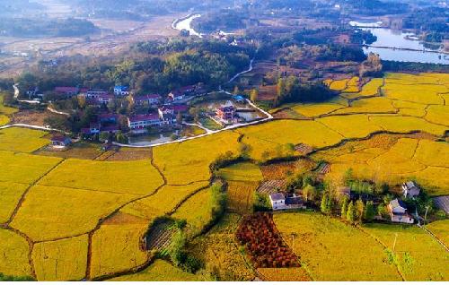 展開美麗中國的金秋畫卷