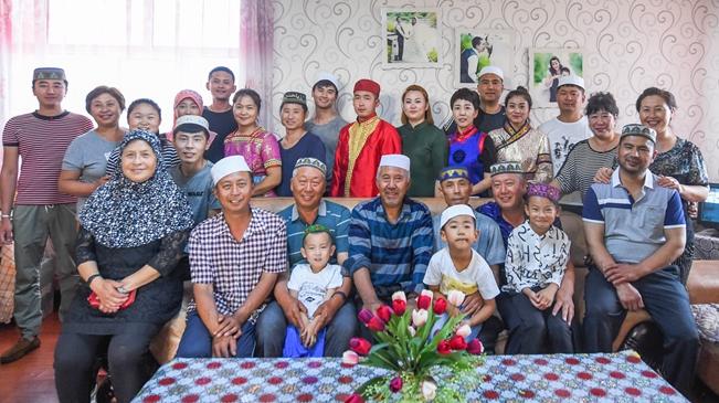 6個民族45口人一家親