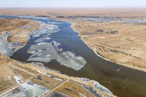 黃河全線開通