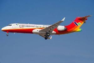 ARJ21-700飛機在內蒙古開展首次區域性示范運營