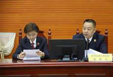 内蒙古首例刑事附带民事公益诉讼案 被告人补种一万余株树苗