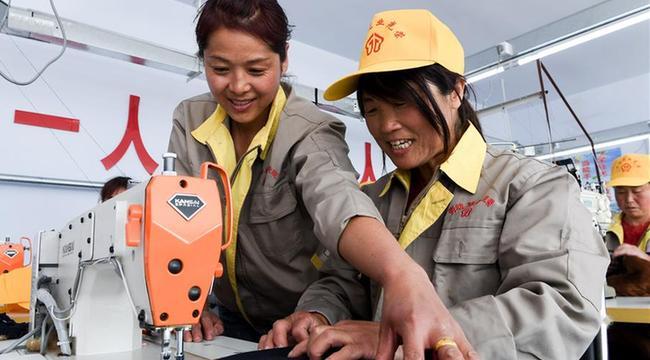 内蒙古化德:京蒙帮扶建车间 就业脱贫在门前