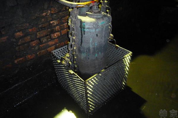 """神東布爾臺煤礦加裝過濾槽,為水泵""""益壽延年"""""""