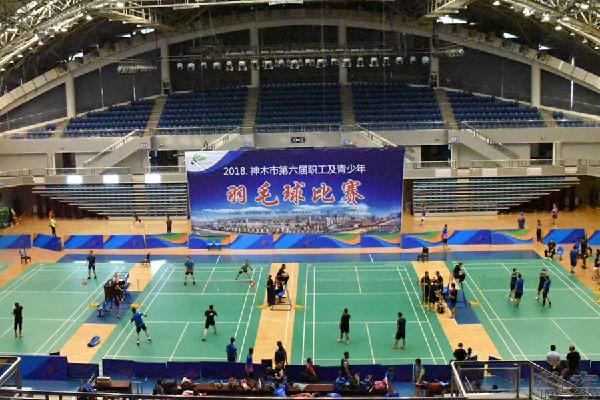 神東羽毛球隊喜獲神木市羽毛球比賽第三名!