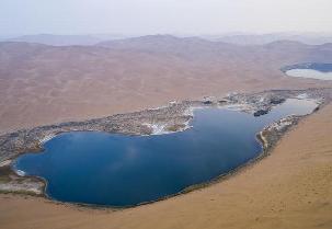 巴丹吉林沙漠:一沙一畫一世界