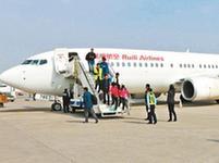 春節期間呼和浩特機場保障旅客20.4萬人次出行
