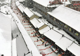 雪落青城 分外妖嬈