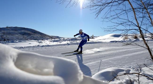 內蒙古二冬會:男子7.5km+7.5km雙追逐賽賽況