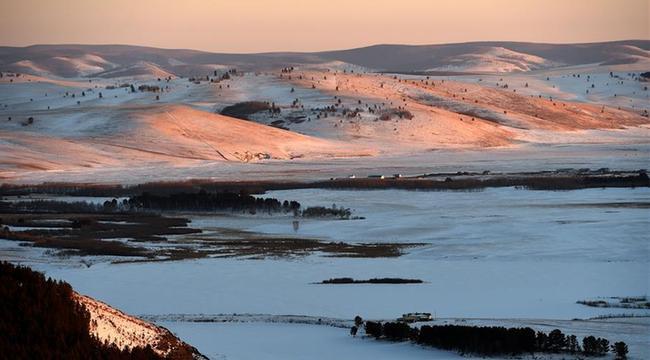 內蒙古莫和爾圖冬日美景