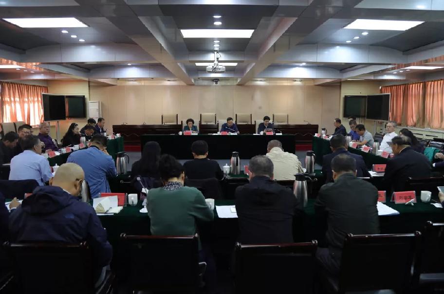 喬欣副廳長主持召開自治區司法廳2019年第十六次周工作例會