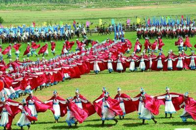在京內蒙古文藝工作者暢談草原文化傳承推廣