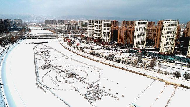雪落青城 似如初見