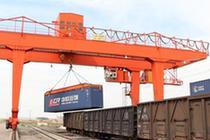 二連浩特口岸一季度中歐班列開行數和進出口運量實現雙增長