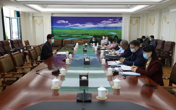 司法廳召開疫情防控指揮部法律服務分指揮部第六次工作會議