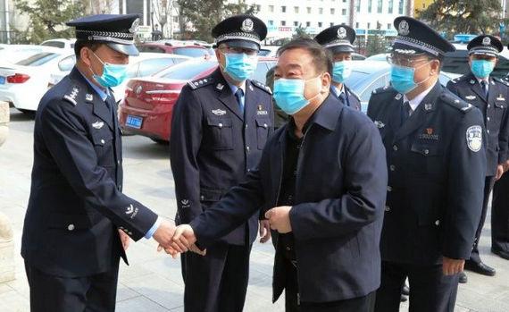 郝澤軍到監獄管理局戒毒管理局調研