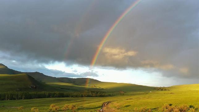 阿魯科爾沁草原夏日美景