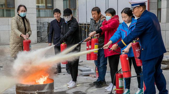 互動體驗學技能 消防知識記心間