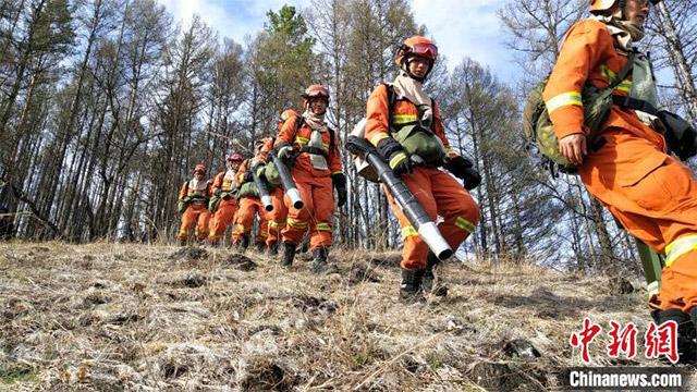 """探訪中國北部原始林區""""守護神"""":消防指戰員人均防火面積約20個西湖"""
