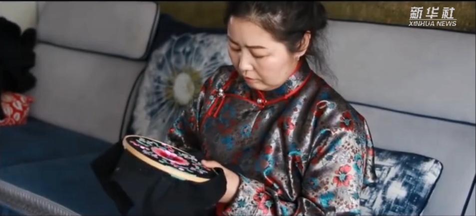 非遺文化丨鄂爾多斯刺繡技藝