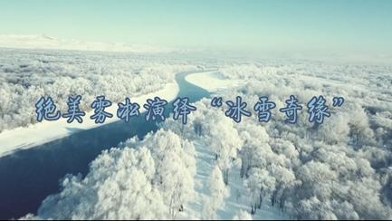 """絕美霧凇演繹""""冰雪奇緣"""""""