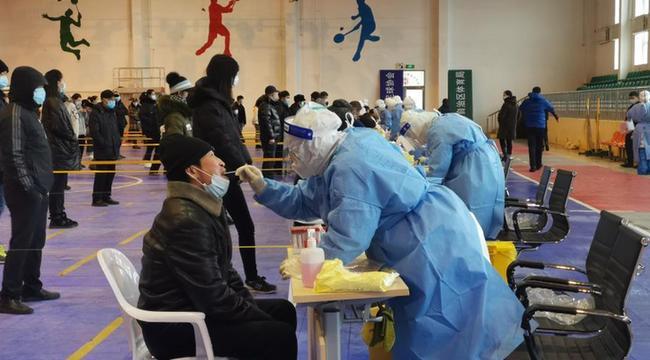 內蒙古滿洲裏啟動第三輪全員核酸檢測