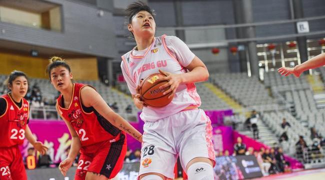 WCBA:內蒙古農信勝陜西天澤