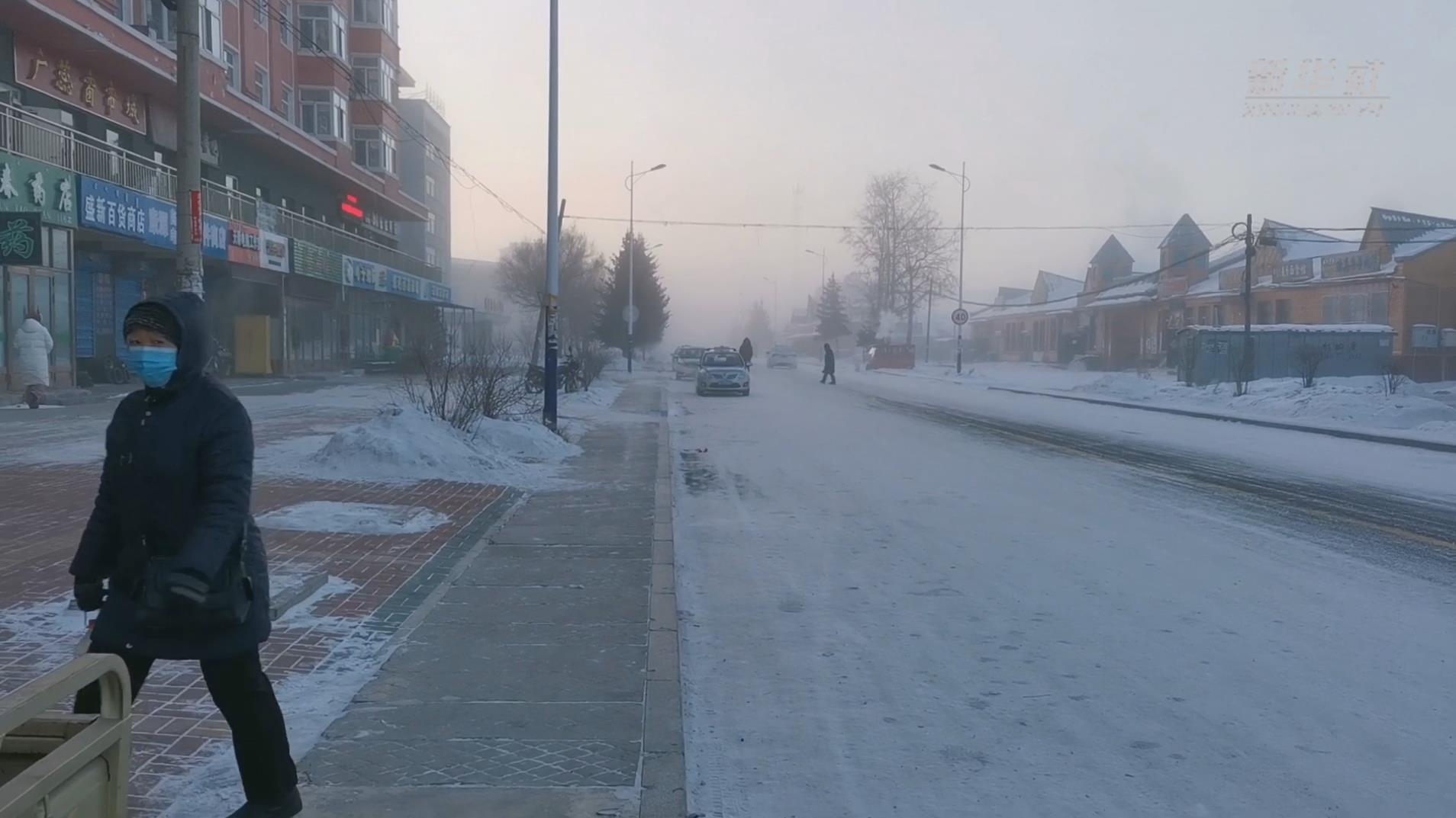 -40℃的北疆小城