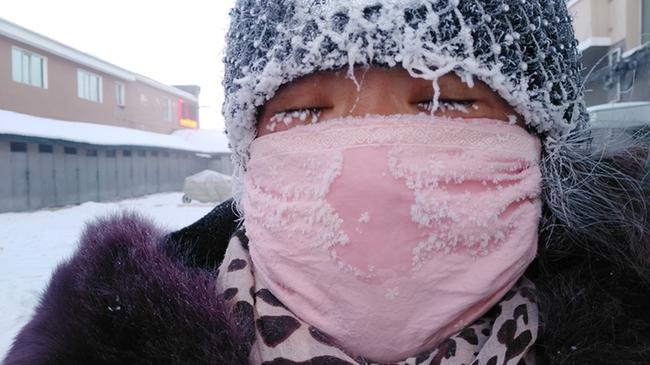 """-44.2℃ """"中國冷極""""根河迎來今冬最低溫"""