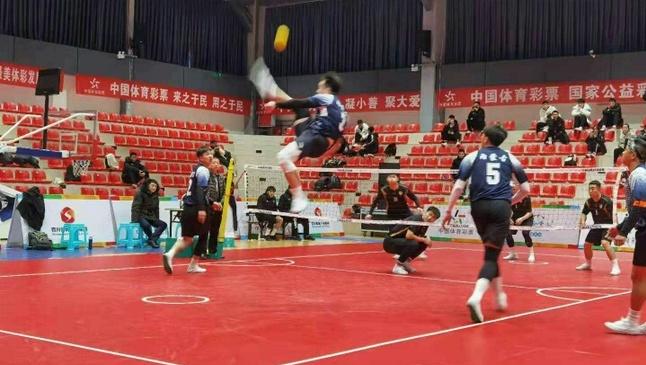 內蒙古藤球男隊獲全國藤球錦標賽四人組冠軍