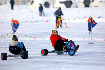 第七屆全國大眾冰雪季走進內蒙古包頭市