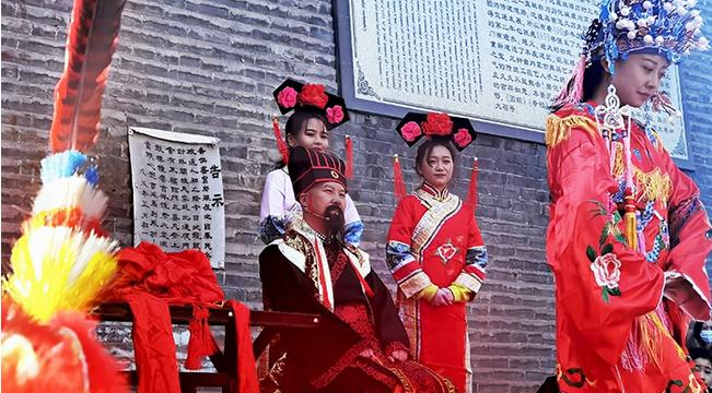 """""""繡球招婿""""鬧新春"""