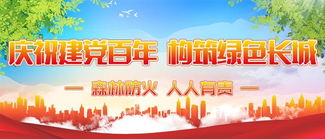 庆祝建党百年 构筑绿色长城