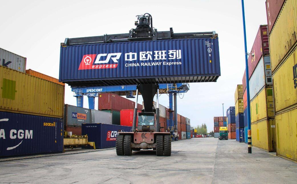 聲視訊蒙丨中國最大陸路口岸進出境中歐班列突破1萬列