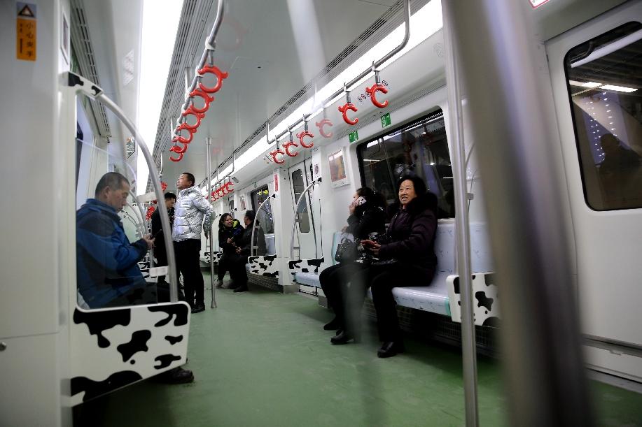 一季度呼和浩特地鐵客流量日均14.19萬人次