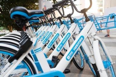 呼和浩特共享單車總量由23萬輛調減為16.1萬輛