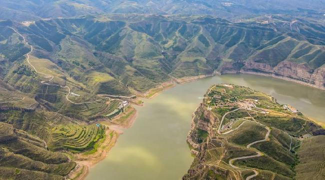 夏日黃河大峽谷