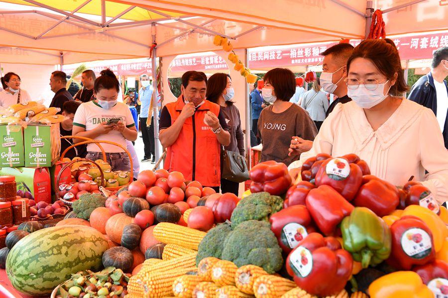 巴彥淖爾市舉辦豐富多彩活動慶祝中國農民豐收節