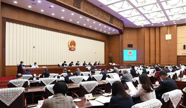內蒙古自治區十三屆人大常委會第三十次會議開幕